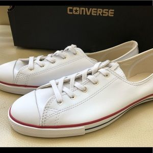 Women's Leather Converse Ox NWB